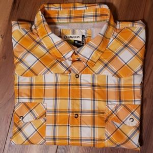 Magellan short sleeve vented shirt